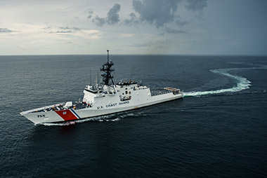 Ingalls Shipbuilding receives $486 million contract from the U.S. Coast Guard to build a ninth National Security Cutter.