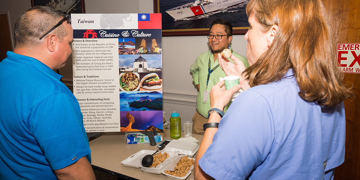 Asian Culture and Cuisine: APSA introduced Ingalls shipbuilders to Asian cultures and cuisines at its Asian-Pacific American Heritage Month event.
