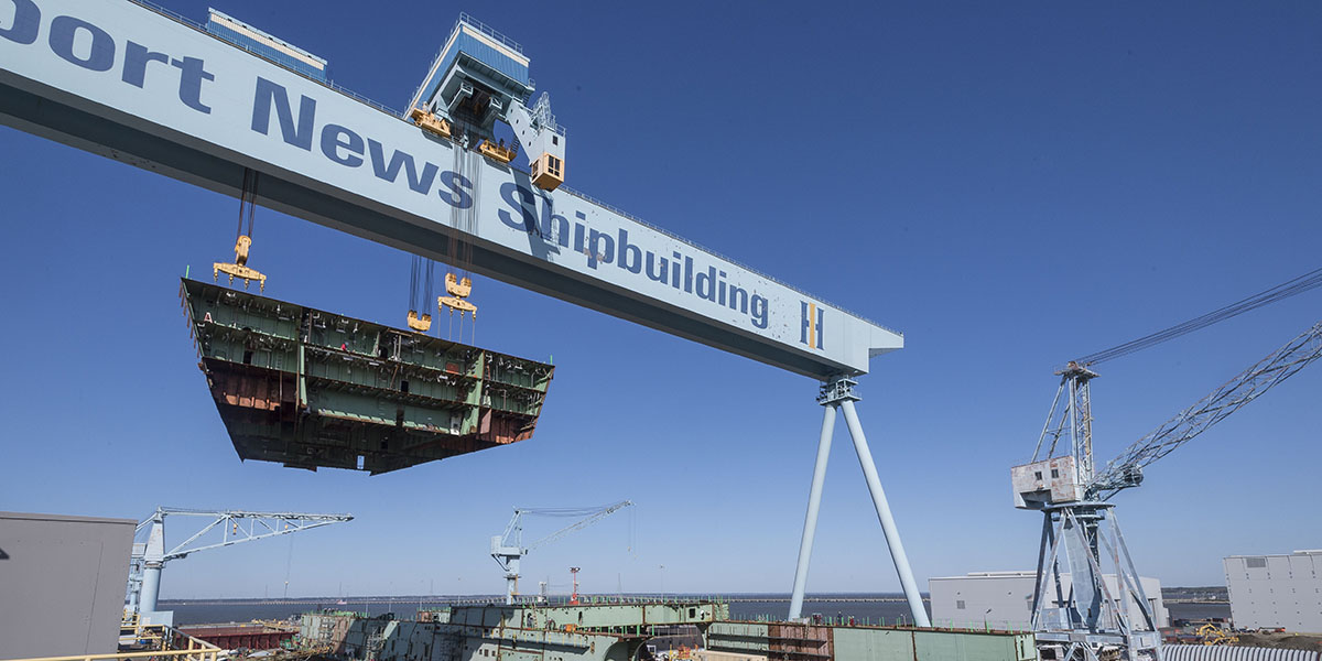 Aug. 31: Newport News Shipbuilding performs