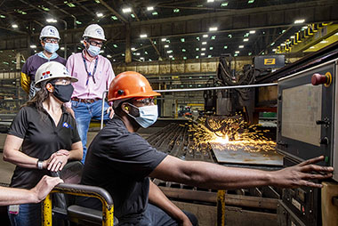 Huntington Ingalls Industries begins fabrication of National Security Cutter Friedman (NSC 11).